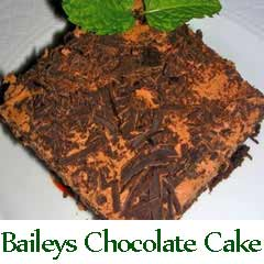 Baileys Irish Cream Chocolate Cake recipe