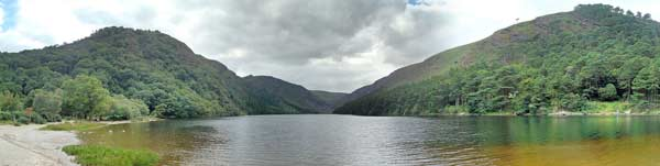 Glendalough. Photo copyright Schcambo CC3