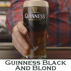 How to make Guinness Black and Blond