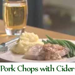 Irish pork chops and apple cider recipe