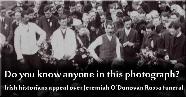 Do you know anyone in this historic Irish photograph?
