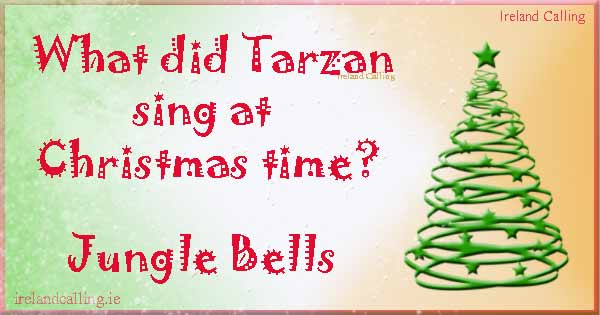 Childrens Christmas joke Image copyright Ireland Calling