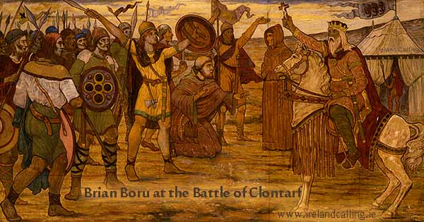Buro-and-Battle of Clontarf-1014 Image copyright Ireland Calling