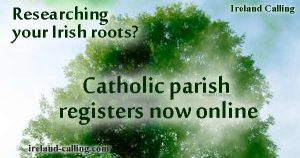 Irish genealogy-Catholic parish registers available online