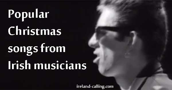 Christmas songs from Irish musicians. Image copyright Ireland Calling