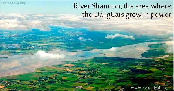 River Shannon, the area where the Dal gCais grew in power. Photo copyright Worak CC3