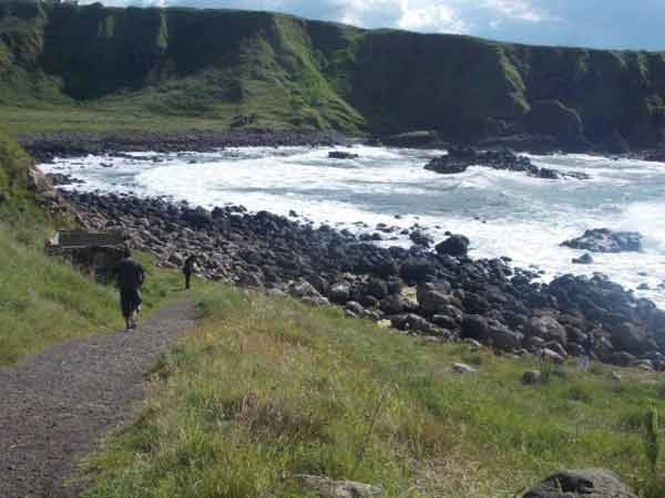 Giant's Causeway, by Iphshita Ray