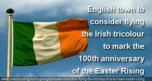 Preston may fly the Irish flag to mark the 100th anniversary of the Easter Rising