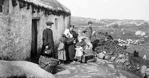 findmypast - Irish poverty relief records