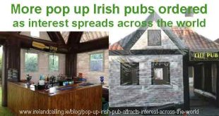 More inflatable Irish pubs ordered due to high demand