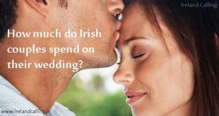 How much do Irish couples spend on their wedding?