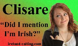 Clisare - Irish comedian