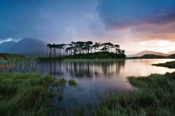 Derryclare Lough. Photo copyright Peter McCabe