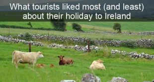 What tourists liked most (and least) about their holiday in Ireland