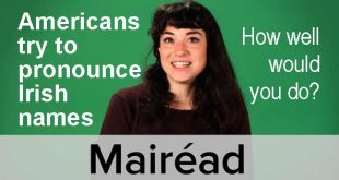 Americans try to pronounce Irish names