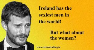 Irish men named as sexiest in the world. Jamie Dornan. Picture Copyright - Stemoc CC2