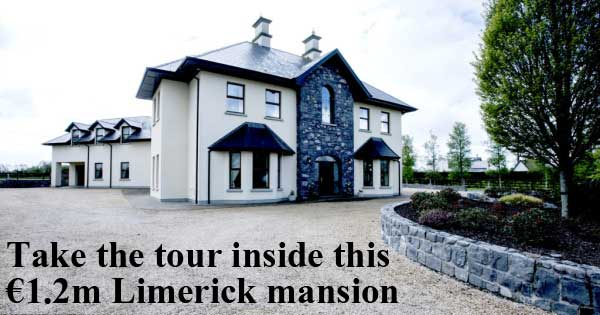 Take the tour inside this €1.2m Limerick mansion