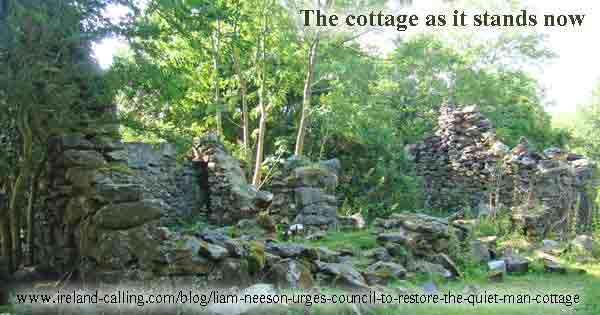 The Quiet Man cottage as it stands now