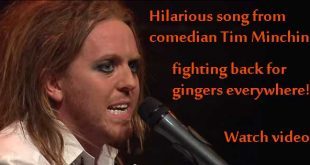 Hilarious song by Tim Minchin fights back for gingers everywhere