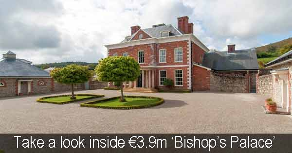 Co Dublin 'Bishop's palace' on sale for €3.9m