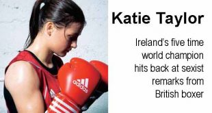 Katie Taylor - Ireland's five time world champion hits back at sexist remarks from British boxer