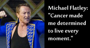 Michael Flatley Cancer made me determined to live every moment. Photo copyright Beaumain CC2
