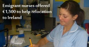 Emigrant Irish nurses offered relocation package to return. Photo copyright BetacommandBot CC2