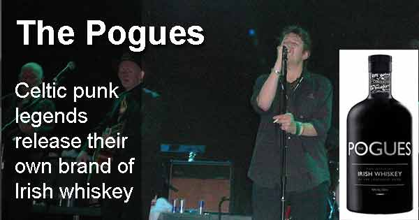 The Pogues - Celtic punk legends release their own brand of Irish whiskey. Photo copyright Aaron Roe Fulkerson cc2