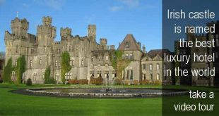 Ashford Castle is named the best luxury hotel in the world. Take a video tour. Photo copyright Ericci8996 CC3