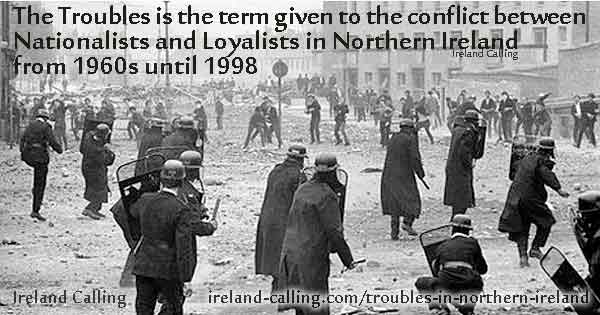 Image result for photo of of Northern Ireland in time of troubles