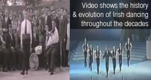 Video shows the history & evolution of Irish dancing throughout the decades