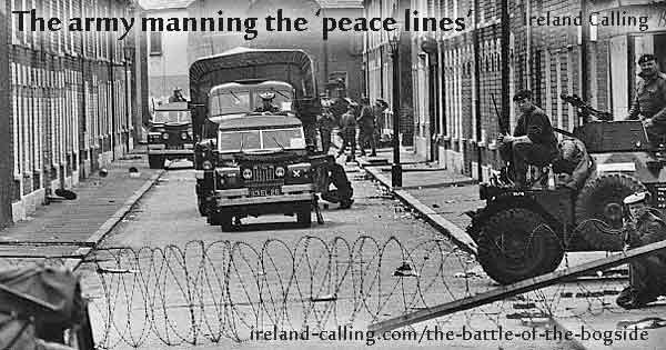 The Battle of the Bogside. Photo copyright Joan Lingard CC3