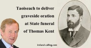 Thomas Kent State funeral. Enda Kenny photo copyright Ignis Fatuus CC2