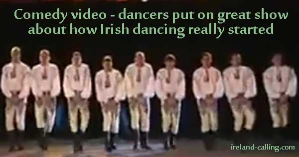 Is this how Irish dancing really started?