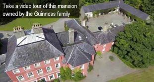 Take a video tour of this mansion owned by the Guinness family