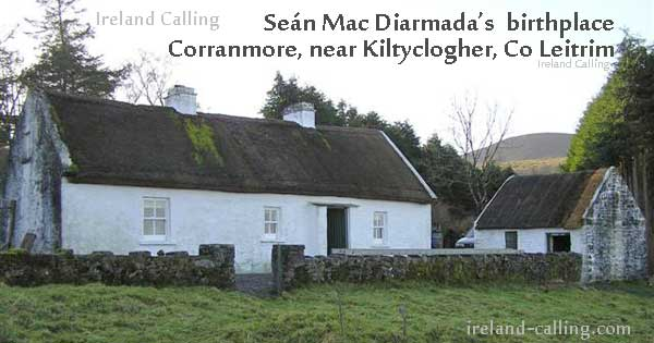 Seán MacDiarmada (signatory of the Proclamation of Independence) birthplace in Co Leitrim. Photo copyright GeographBot CC2