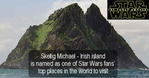 Skellig Michael - Irish island is named as one of Star Wars fans' top places in the world to visit