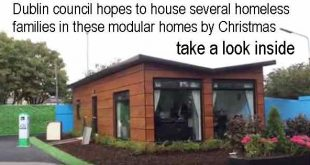 Dublin council hopes to house several homeless families in these modular homes by Christmas. Take a look inside.