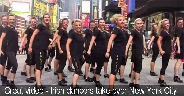 Great video - Irish dancers take over New York City