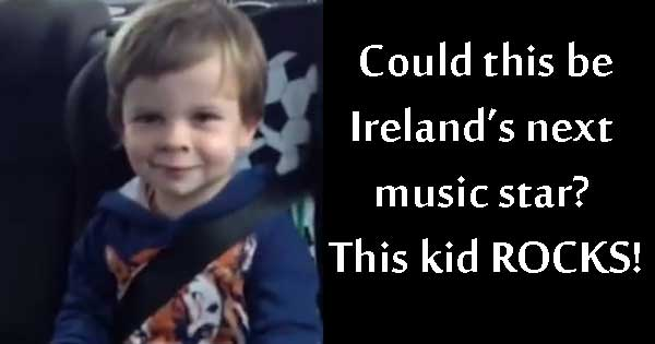 This kid ROCKS - 3-year-old nails Kings of Leon song