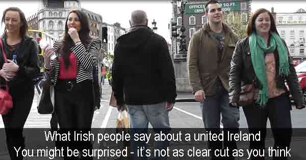 What Irish people say about a united Ireland You might be surprised - it's not as clear cut as you think