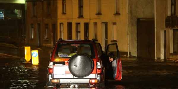 Clean up under way after Storm Desmond causes chaos