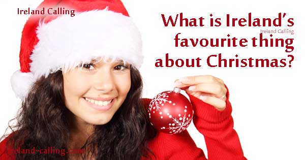 What do the Irish like most about Christmas?
