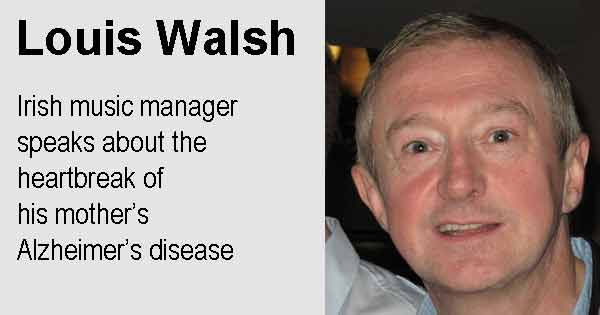 Louis Walsh - Irish music manager speaks about the heartbreak of  his mother's Alzheimer's disease. Photo copyright Andymiah cc3