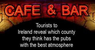 Tourists to Ireland reveal which county they think has the pubs with the best atmosphere