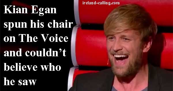 Kian Egan stunned to see old friend audition on The Voice of Ireland