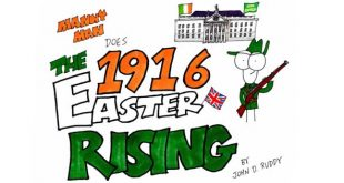 Great Easter Rising video with Manny Man