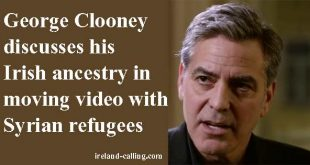 George Clooney talks about his Irish heritage