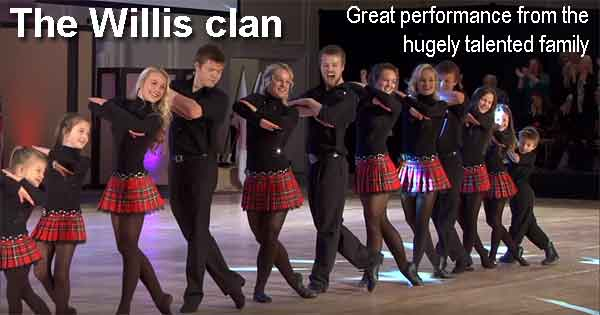 The Willis Clan - Great performance from the hugely talented family