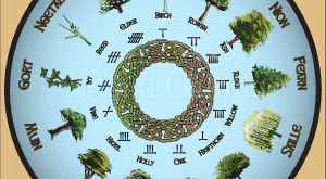 Celtic Tree Calendar. Image copyright Ireland Calling